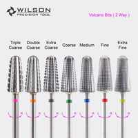 Volcano Bit(Fastest Remove Acrylics&Gels)-Two directional(for All Hand use)-WILSON Carbide Nail Drill Bit