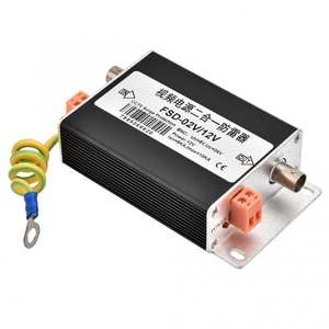 Lightning Portector-Arrester Surge-Protection BNC Network Video-Power-Supply 2-In-1 12V