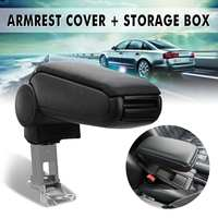 Brand New Car Leather Armrest Console Cover And Storage Box For Audi A6 1998 1999 2000 2001 2002 2003 2004