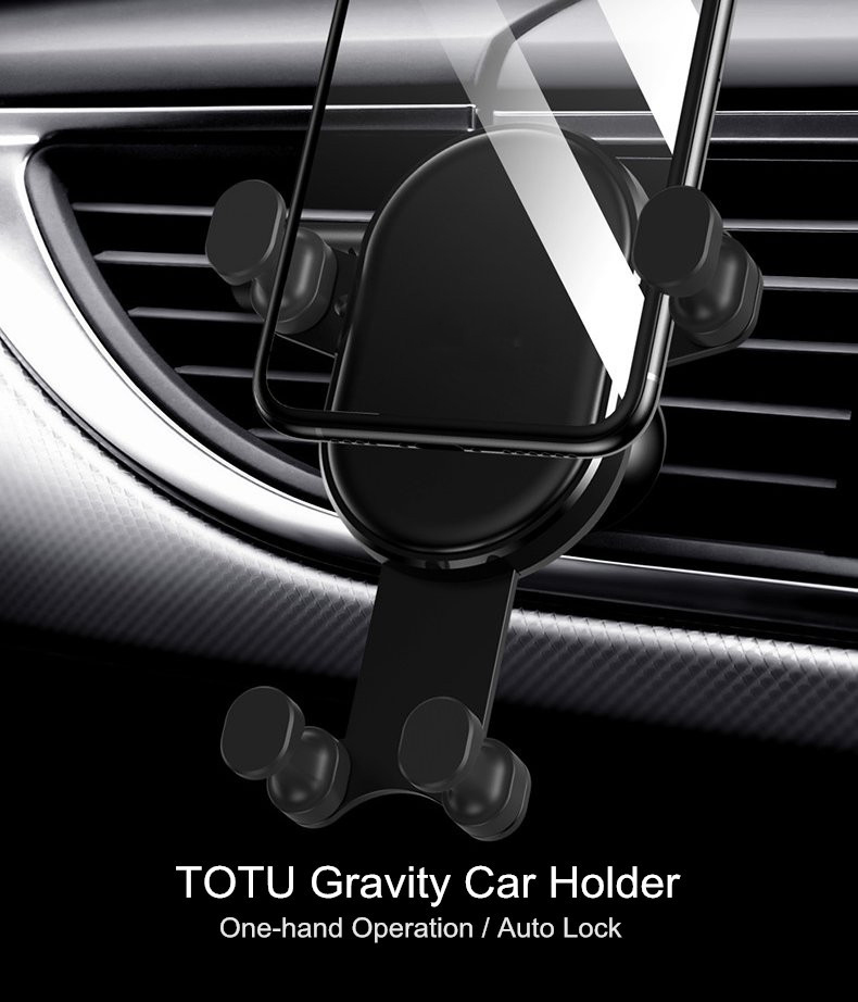 LEORY Gravity Car Phone Holder For iPhone X XS Max XR Air Vent Mount Car Holder For Samsung S9 for OPPO Phone Stand Telefon
