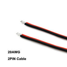 2PIN Cable,20AWG,Wire,for 2835 3528 5050 Mono Color LED Strips,Low Voltage DC5V/DC12V/DC24V, Strip light, Linear Lighting