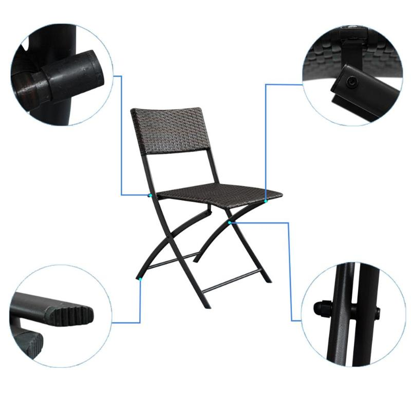 Portable Rattan Garden Furniture
