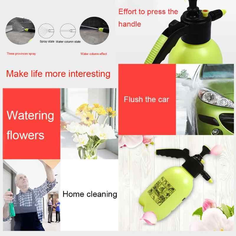 2L البخاخ المحمولة ضغط حديقة الرش زجاجة النباتات الزهور سقي غلاية الضغط البخاخ أدوات البستنة سقي