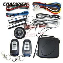 Car engine start button CHADWICK 886 Keyless Entry Remote Control Start-stop Push Button Anti-Theft System Starter