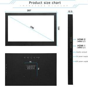 11,6/13,3 дюймов PS4 портативный HD дисплей ультратонкий двойной HDMI дисплей компьютерная игровая консоль экспандер экран