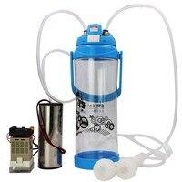 Sheep Portable Vacuum Pump Milking Machine Spares For Goat Cows Electric Impulse Controller Type Milking Machine Fresh Milk