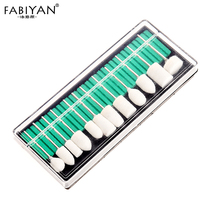 Nail Art Drill Bits Machine Grinding Head File Polishing Smooth 12Pcs/Set IRotary Burrs Milling Electric Manicure Pedicure Tools