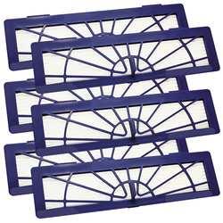 EAS-6 штук фильтр фиолетовый без мягкой разблокировки для всех типов Neato Botvac 70, 70E, 75, 75E, 85, 85E, BotVac серии, BotVac