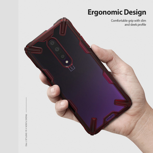 Image 3 - Ringke Fusion X for Oneplus 7 Pro Case Dual Layer  PC Clear Back Cover and Soft TPU Frame Hybrid Heavy Duty Drop Protection