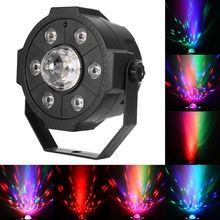 halloween led projector AC85-265V Colorful Light LED Stage Lamp with Remote Control for KTV Dancing Party Disco projector цена 2017
