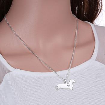 Dog Pendant Necklaces  4