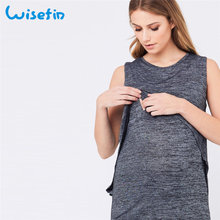 Wisefin Sleeveless Pregnant Clothes Summ