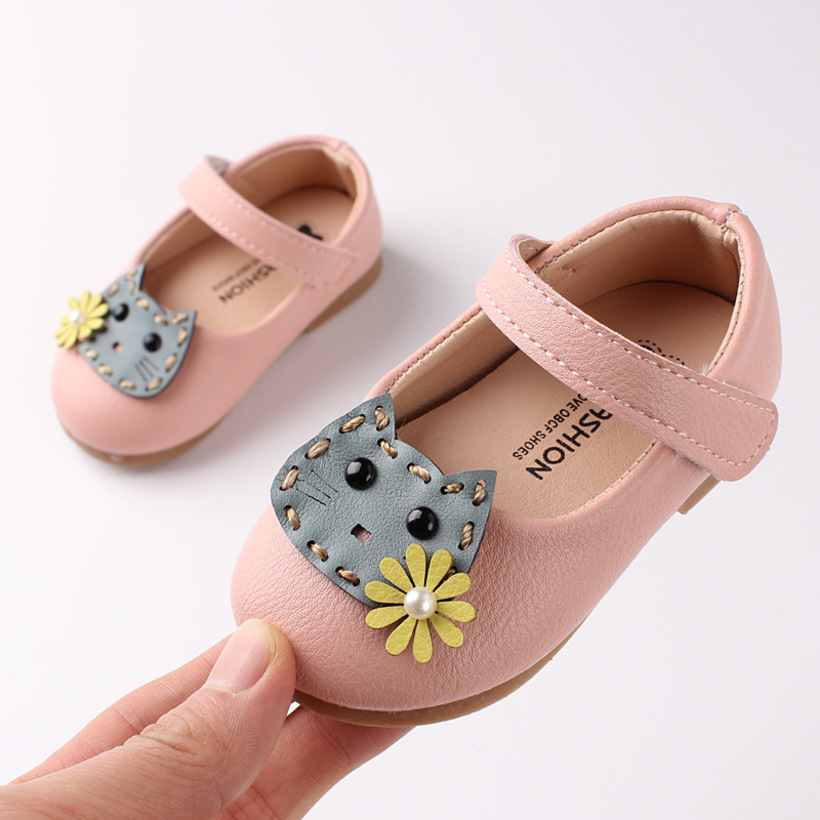 Infant Baby Girls Shoes Party Baby Casual Shoes Toddler Girls Walking Shoes Non-slip Soft Bottom Newborn Toddler Shoes