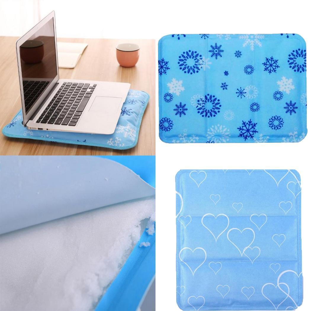 Pet Cat Dog Car Cooling Mat Summer Avoid Overheating Pad lightweight and folds effortlessly Mat Home Office Multi use Supplies