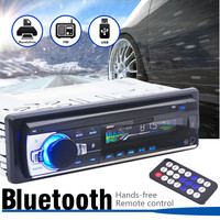 bluetooth Auto Radio Car Stereo Radio 1 DIN In Dash Radio SD/USB Aux Input FM Stereo Multimedia MP3 Player