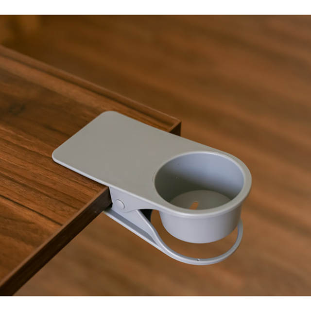 Drinking Cup Holder Clip Table Bottle Cup Stand Water Coffee Mug