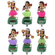 На солнечных батареях, танцующая девочка, качающаяся игрушка, подарок для украшения автомобиля, новинка, счастливые танцы, солнечные игрушки для девочек, для детей