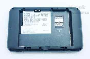 ロック解除 Netgear Aircard 790s (AC790S) 300Mbps 4 4g モバイルホットスポットオリジナル Wifi ルーターポータブル無線 Lan 敗走