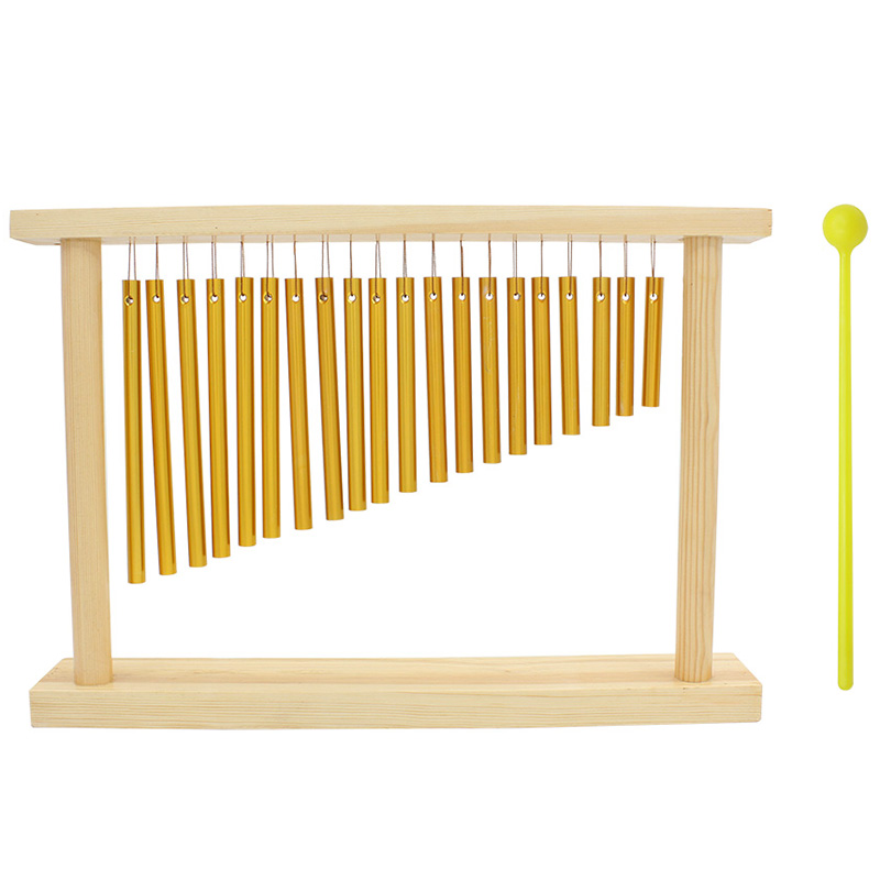 20 tons Campanula dédié Percussion carillons éoliens Tubes en aluminium jouet éducatif Instrument de musique développer la musicalité des enfants