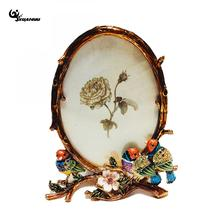 European Style Floral Bird Photo Frames Ornaments Home Decor Picture Friend Birthday Gift