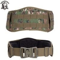 Army Military Camouflage MOLLE Girdle Tactical Outer Waist Belt Padded CS Belt Multi Use Equipment Airsoft Wide Belts Multicam
