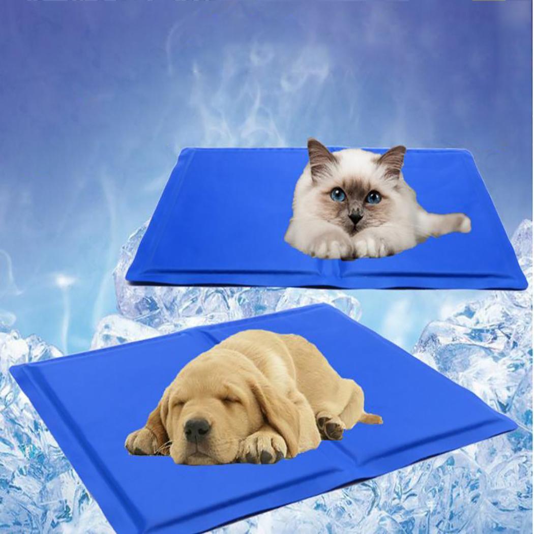 1PC Summer Pet Cat Dog Cooling Mat Summer Overheating Pad Pet Supplies Gulls/Cushions Cat,Dog Ice Pad Sleeping Mat