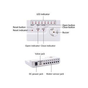 Image 3 - Идентификатор утечки воды WLD 806 Hidaka система сигнализации для домашней безопасности с 2 шт. DN15 детектор утечки воды