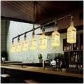 Винтажный Железный Лофт-бар, светодиодный светильник для гостиной, промышленные подвесные лампы, подвесные светильники для дома, Кухонные ...