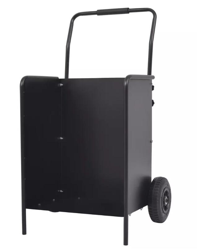 VidaXL Firewood Cart With Pneumatic Tyres Convenient Kitchen