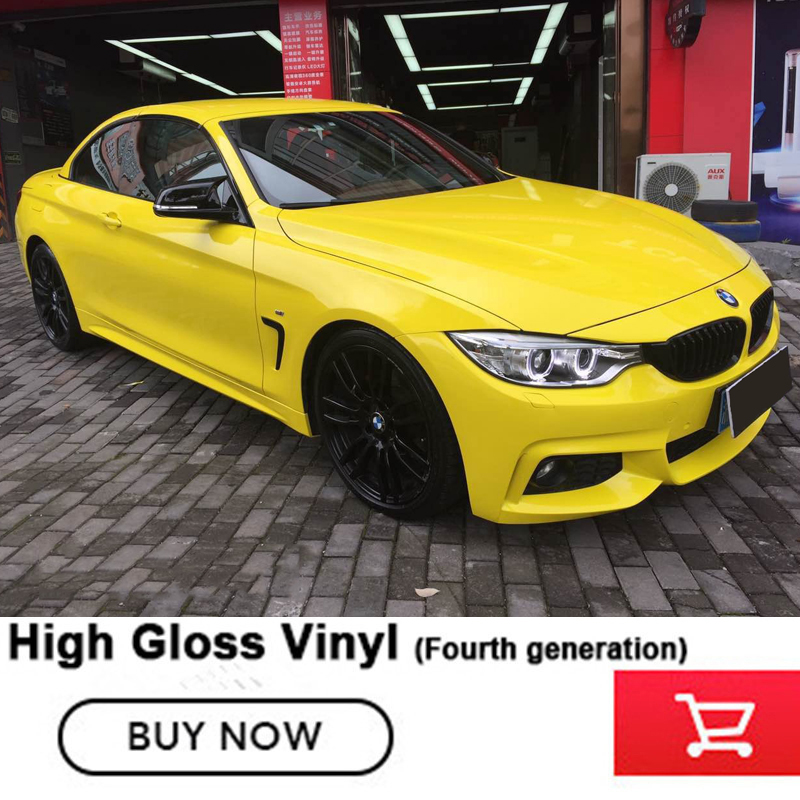 Crystal Super High Definition Glossy Vinyl Wrapping Film