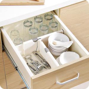 Image 3 - Drawer Separator Telescopic Wardrobe Drawer Divider Board Cabinet Clapboard For Ties Socks Bra Underwear Lingerie Organizer