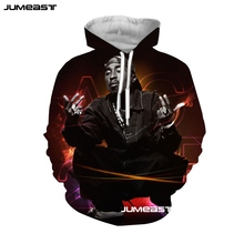 Jumeast Famous Rapper 2pac 3D Print Men/Women Hoodie Tupac Hooded Sweatshirt Hip Hop Long Sleeves Cool Fashion Sport Pullover a lolli 6 violin sonatas op 1