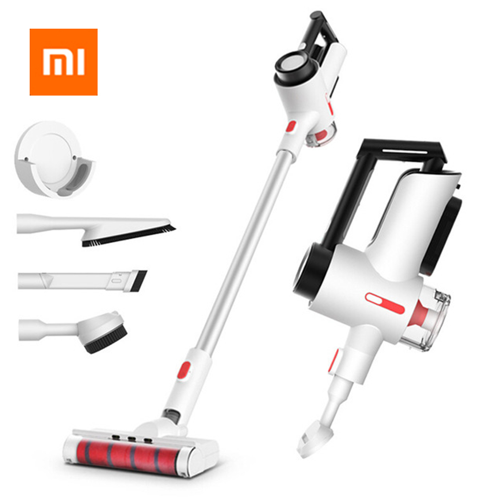 Original Xiaomi Mijia Deerma Wireless Vacuum Cleaner Handheld Wireless Strong Suction Low Noise With Night Light