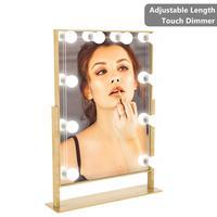 Y10 Dresser Vanity Lights Bathroom Mirror Light Makeup Mirror String Light USB Dimmable Mirror Lamp LED Cosmetic Light