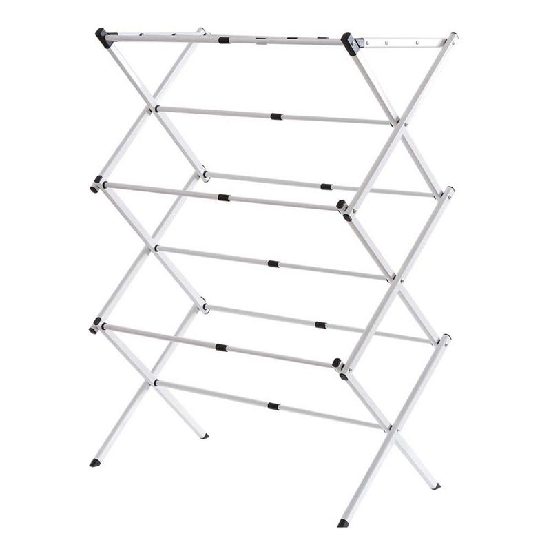 Compact Steel Clothes Drying Rack