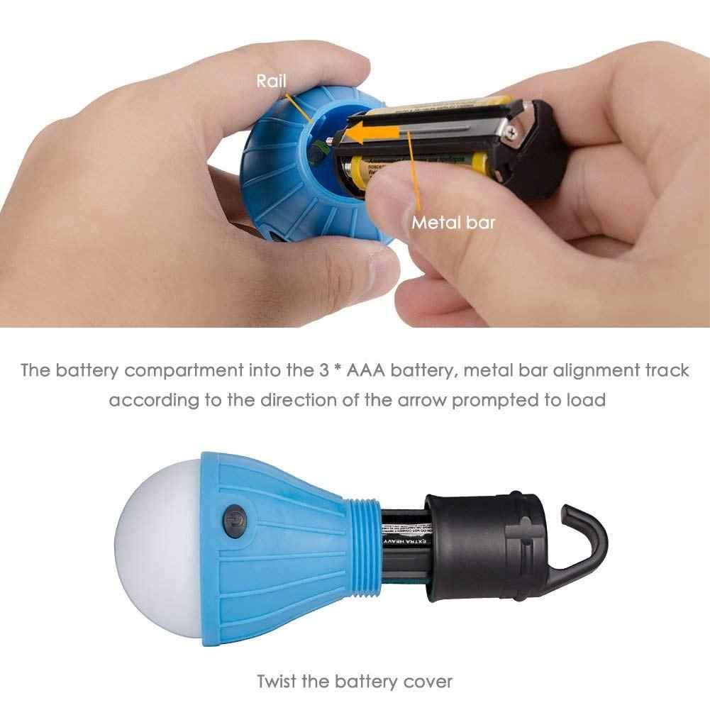 Linterna LED de Camping portátil tienda resistente al agua para exterior bombillas LED lámpara de Camping lámpara de emergencia linterna para Campi