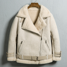 2020 Jacket Woman Winter Thick Lamb Fur Coat Cotton Outerwea
