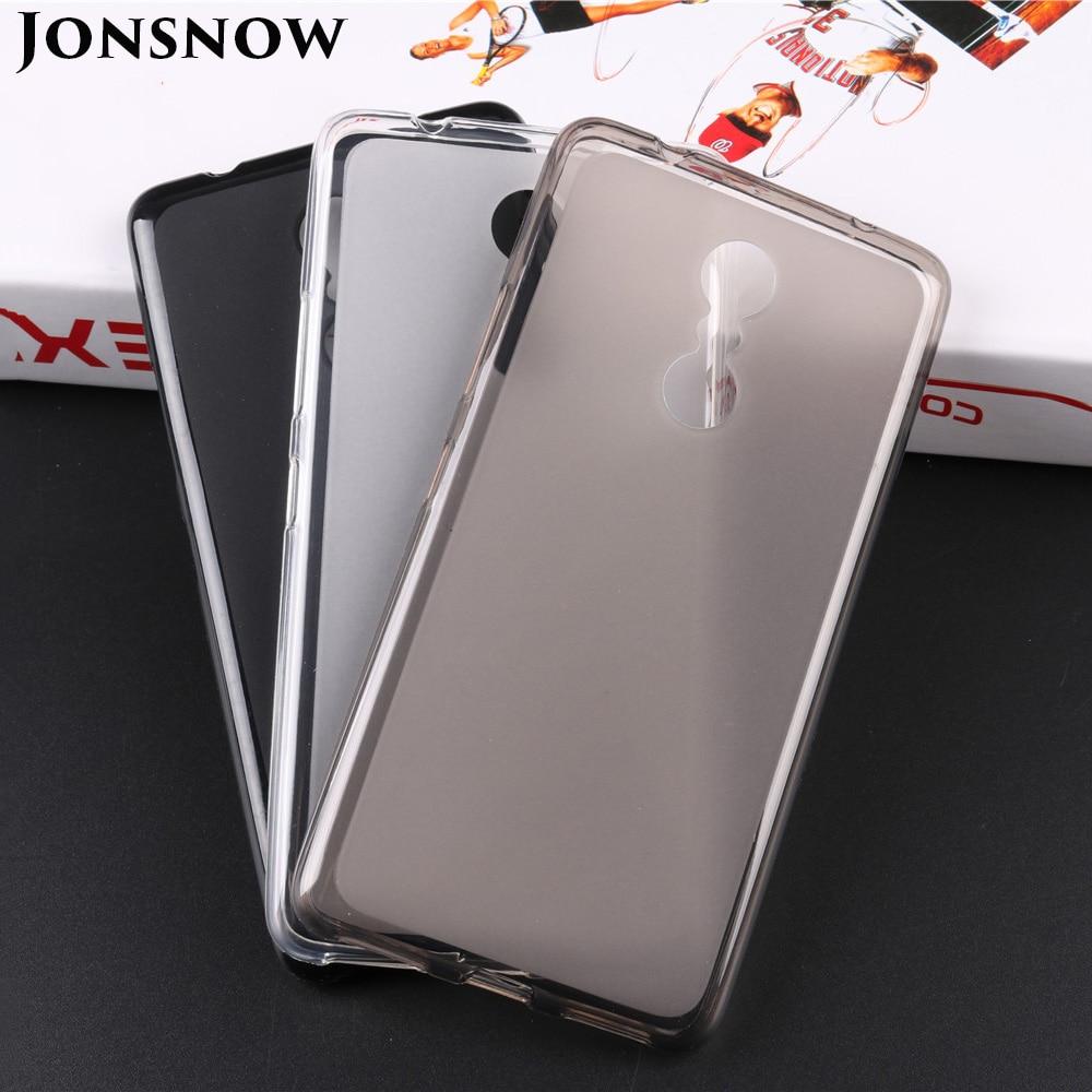 JONSNOW Soft Case for Lenovo K6 Power K33A42 Pudding Anti Skid Silicone Cases for Lenovo K6 Note K53A48 Phone Cover Capa Fundas