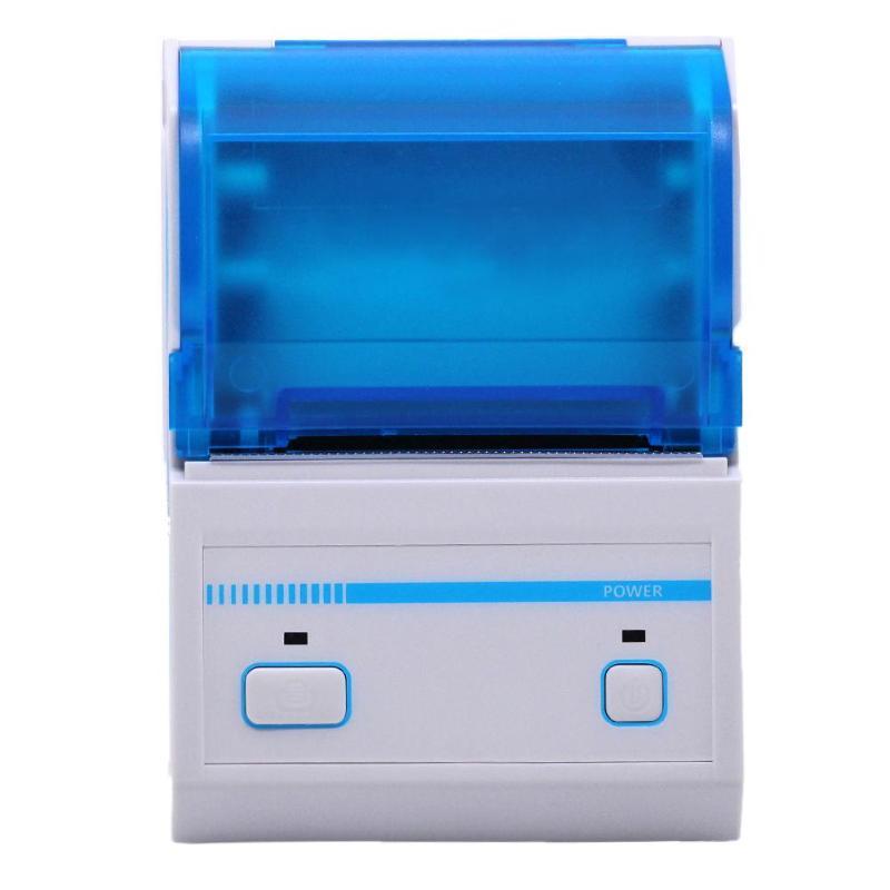 US Plug Mini Bluetooth POS Receipt Thermal Printer Pressure Sensitive Adhesive Printer for Android for IOS