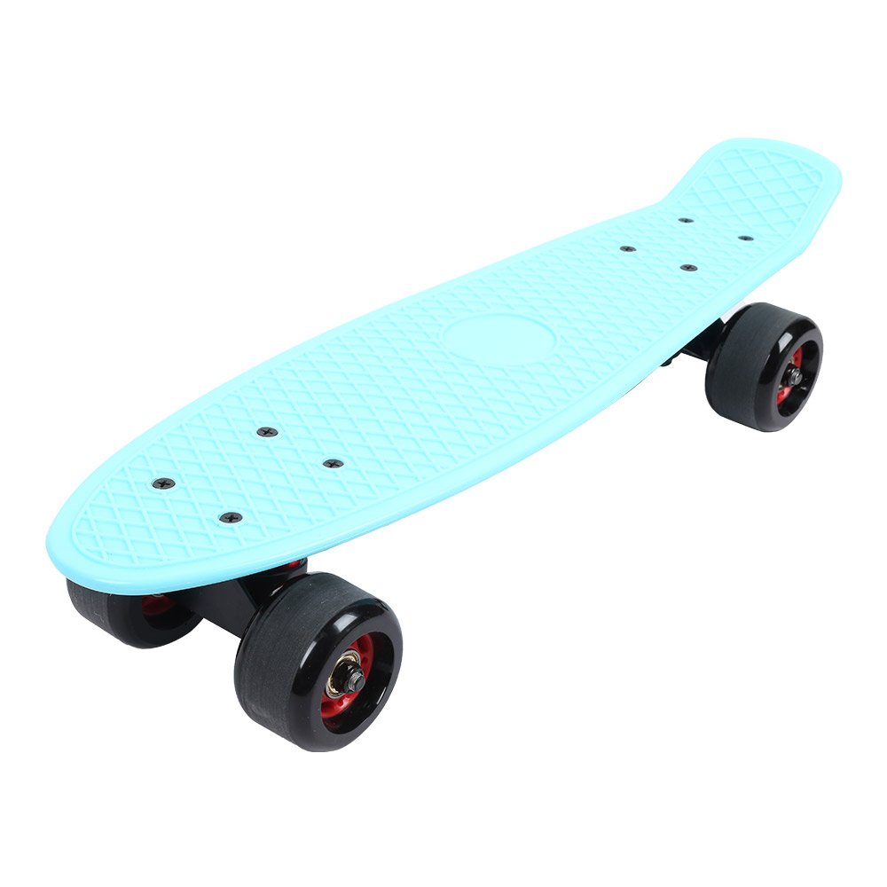 Четыре колеса скейтборд Рыба скейтборд скутер Longboard Спорт на открытом воздухе для взрослых и детей скейтборды аксессуары - 5