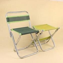 Складной Открытый Портативный со спинкой стул Маленький стул рыболовный стул