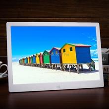 15 дюймов светодиодный HD 1280*800 полнофункциональная цифровая фоторамка электронный альбом цифровая фотография Музыка Видео