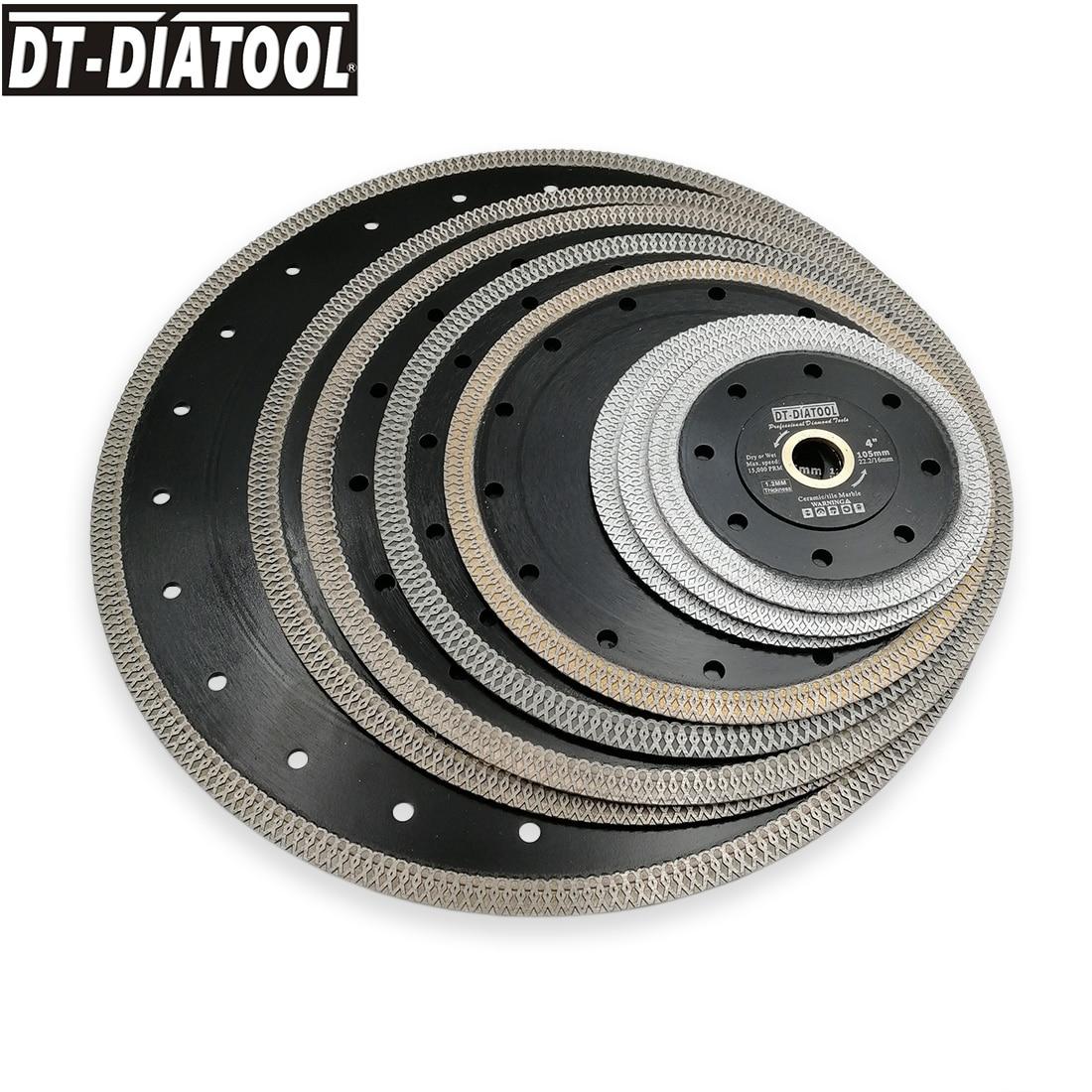 """DT-DIATOOL 2pcs/pk Premium Diamond Wheel Cutting Disc X Mesh turbo rim segment Saw Blades Marble Dia 4"""" 4.5"""" 5"""" 7"""" 8"""" 9"""" 10"""" 12"""" Price $24.15"""