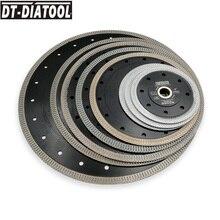 DT-DIATOOL 2pcs/pk Premium Diamond Wheel Cutting Disc X Mesh turbo rim segment Saw Blades Marble Dia 4 4.5 5 7 8 9 10
