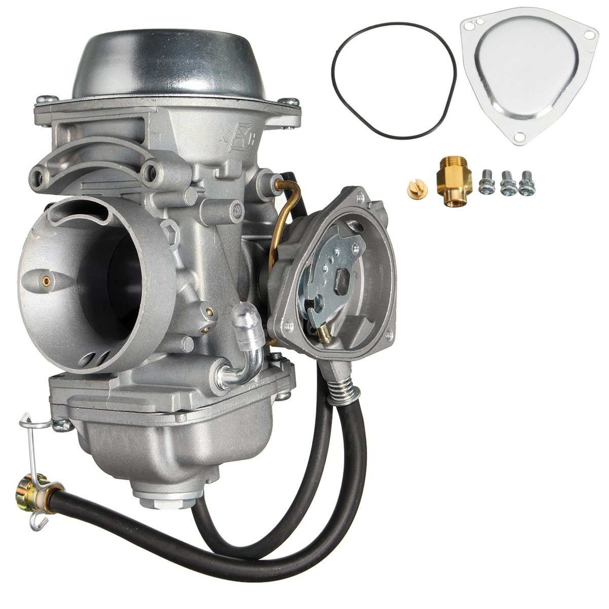 En aluminium Nouveau Carburateur Carb Kit Pour Polaris Sportsman ATV 500 4X4 HO RSE HO DUSE HO AR1368CA161RA Argent