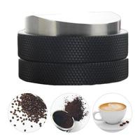 Portable Coffee Tamper Adjustable Smart Coffee Tamper Espresso 58mm Base Propeller Kitchen Tools