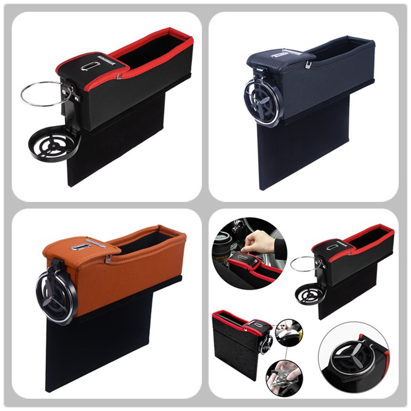 Stowing Tidying Car-Seat-Storage-Bag Multifunction-Organizer Phone-Coins Cigarette-Keys