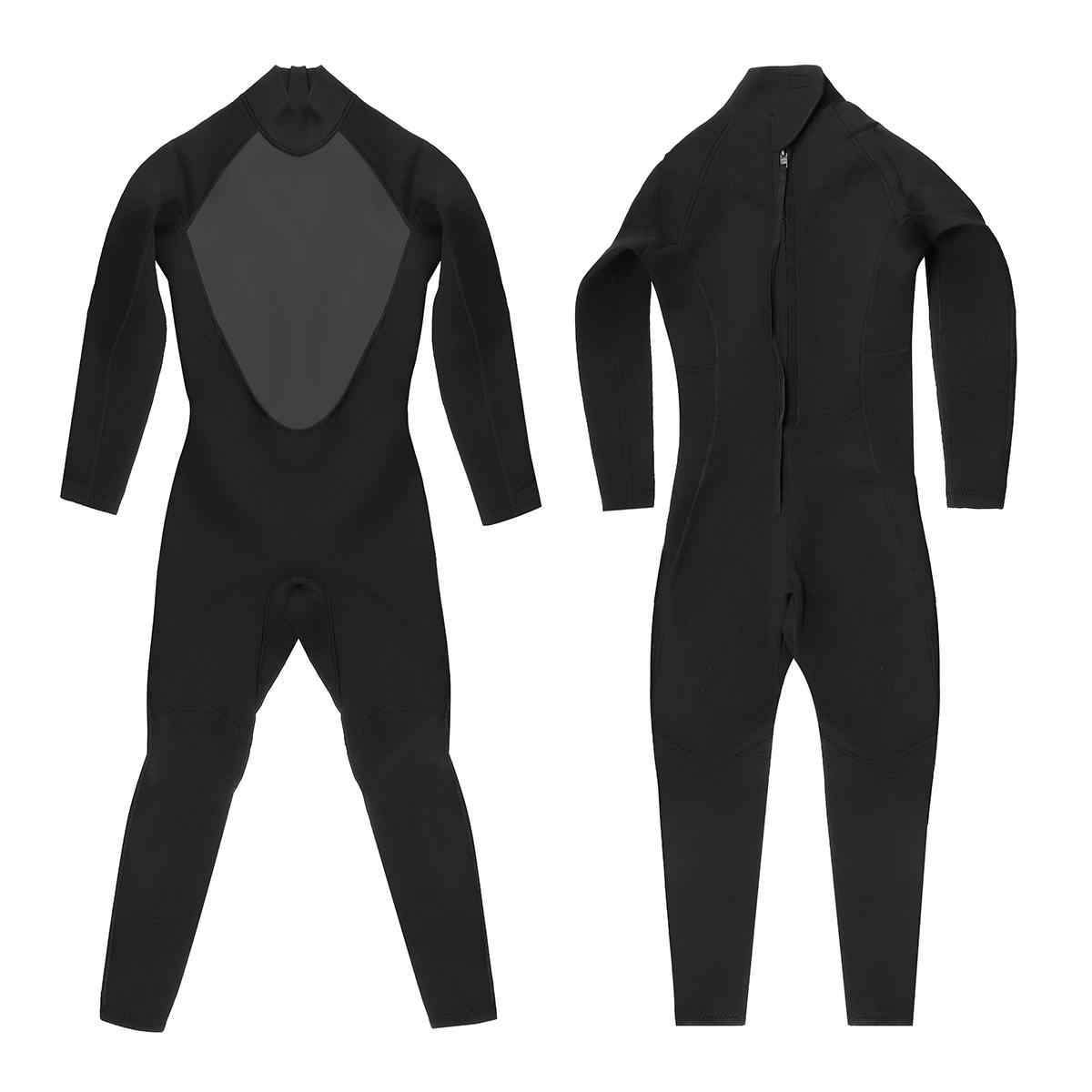 417afce552 ... 3MM Mens WetSuit S-XL Full Bodysuit Super Elasticity Diving Suit For Swimming  Surfing Snorkeling