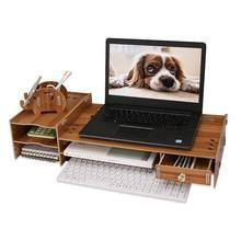 Scaffale Organizacao Gabinete Pc Hogar Practico Computer Display Stand Storage Rack Shelf Organizer Repisas Estantes Shelves