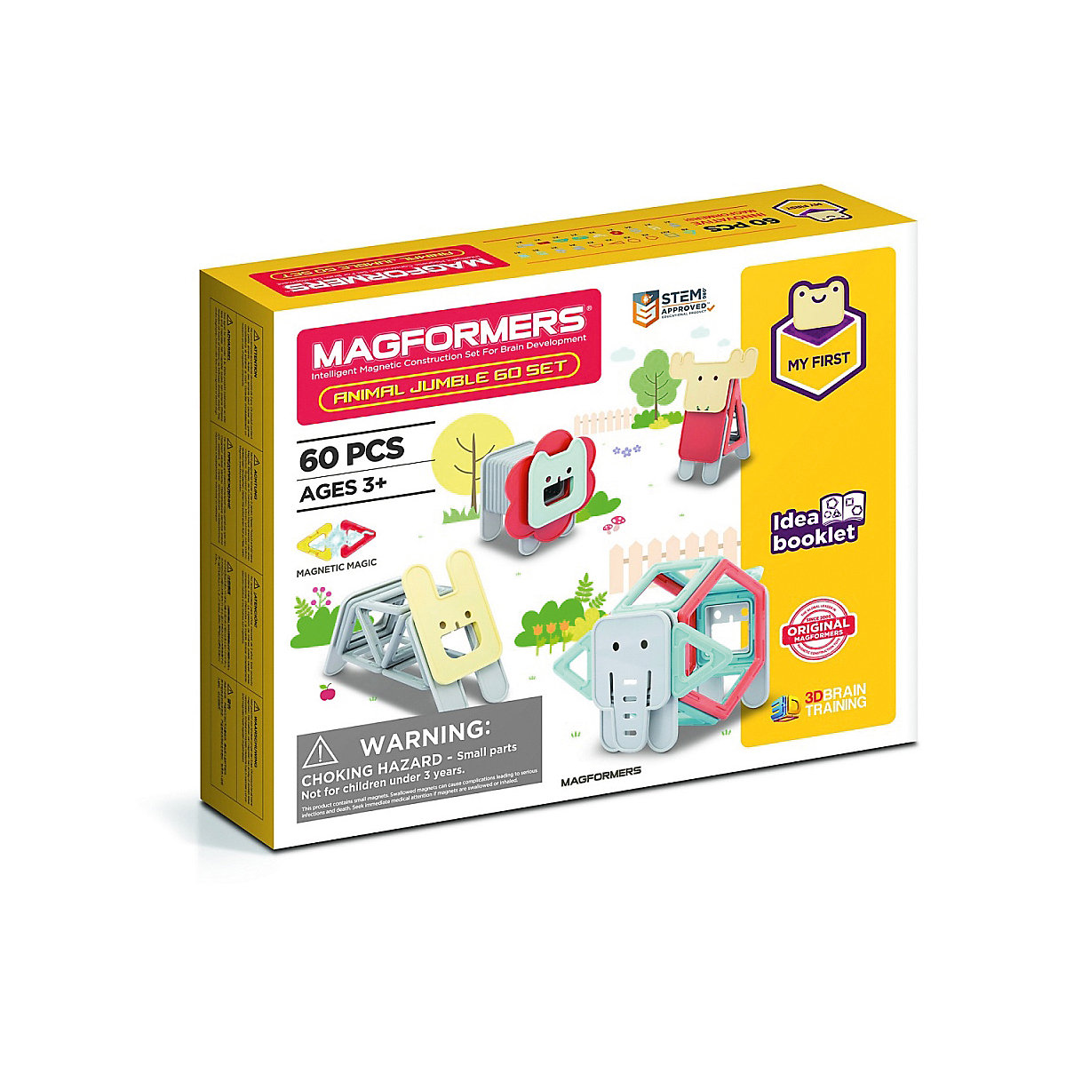 Magformers Magnetic 10989070 designer for children education game toys for boys toy 36pcs funny bricks magnet toys magnetic construction set toys for children car wheels magnetic building blocks square kids toys